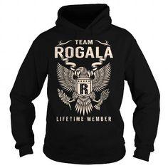 Cool Team ROGALA Lifetime Member - Last Name, Surname T-Shirt Shirts & Tees