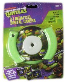 Teenage Mutant Ninja Turtles 2.1MP Camera by Sakar. $46.99