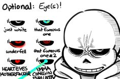 """Anonymous said: Hello, my friend! I was wondering if you can make a little tutorial of sorts on how you make Goatmom and Sans look scary. You know, like in the """"Does little Pup get sick?"""" and the..."""