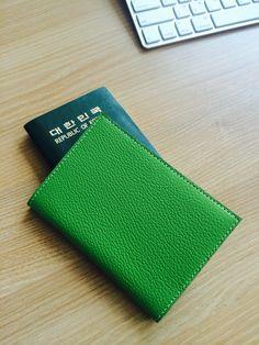 2014/5/30 오사카 여행을 위해 여권케이스 제작