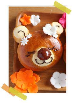 Cute Bear Bread tutorial