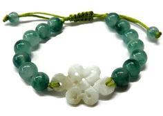 Jade Mystic Knot Bracelet Mystical & Healing Properties
