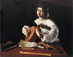 Michelangelo Caravaggio, The Lute Player, 1596 on ArtStack #caravaggio #art