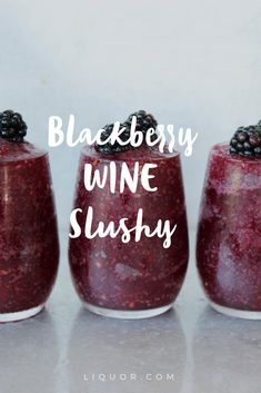 Who doesn't love a good slushy? Well this one has #wine in it so that makes it even better!