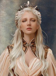 Fantasy Princess, Princess Art, Warrior Princess, Blonde Hair Characters, Girls Characters, Fantasy Characters, Fantasy Portraits, Fantasy Artwork, Character Portraits