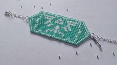 Bracelet manchette // The Legend of Zelda // Perles miyuki //
