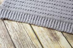 Ribbed Crochet, Crochet Coat, C2c Crochet, Crochet Trim, Filet Crochet, Learn To Crochet, Crochet Clothes, Easy Crochet, Crochet Stitches