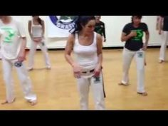 Great capoeira combos to train – lesson by Professora Pavao, via pavaozinhaCB on YouTube