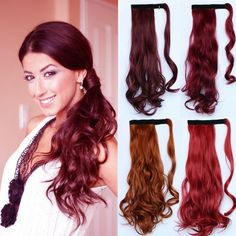 FREE worldwide delivery always with www.jennyleehair.co.uk Mega Hair Tic Tac, Ponytail Hair Extensions, Ponytail Hairstyles, Long Hair Styles, Delivery, Free, Beauty, Weave Ponytail, Hair Ponytail
