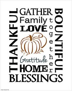 free thanksgiving subway art printable