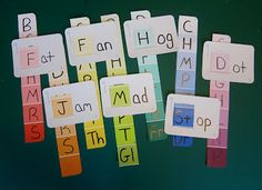 TEACH YOUR CHILD TO READ - Paint Chip Word Families can be a great visual activity for students. This activity would take a considerable amount of time to get together and keep up. Super Effective Program Teaches Children Of All Ages To Read. Teaching Reading, Fun Learning, Learning Activities, Teaching Kids, Reading Practice, Family Practice, Childcare Activities, Phonics Reading, Educational Games For Kids