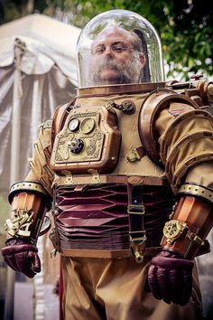 steampunk space suit