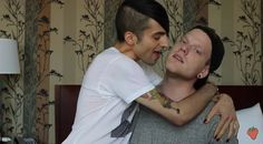 """Mitch:"""" i just hit you in the jaw and that was your fault daddy."""" Scott: """"kiss it"""" Mitch: """"you want me to kiss it"""""""