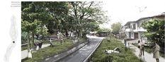 MegaColegio Jardín Educativo Ana Díaz, equipamiento educacional a escala urbana en Medellín,Proyecto urbano 1:2500: vistas. Image Courtesy of Equipo desarrollador