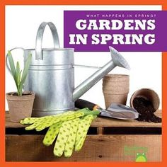 Follow a group of children as they plant a garden. Vibrant, full-color photos and carefully leveled text will engage early readers as they discover how people can help seeds grow into plants. From preparing the soil and planting seeds to nurturing new growth, this book is sure to delight.