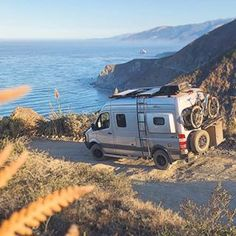 "7108f2e181 Aluminess on Instagram  "" garrett chow exploring Big Sur in his 4x4 Winnebago  Revel outfitted with Aluminess gear😀👌 .  aluminess  ladder  rearbumper ..."