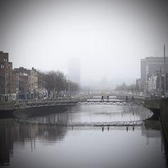 Liffey Fog by Andy Sheridan