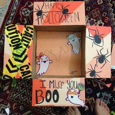 Halloween themed care package for that special someone on deployment