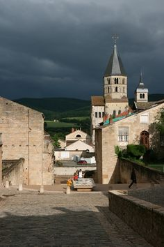 Cluny Abbey - Cluny, Burgundy, France