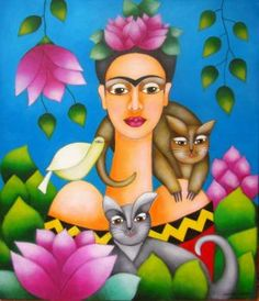 Frida and cats (304 pieces)