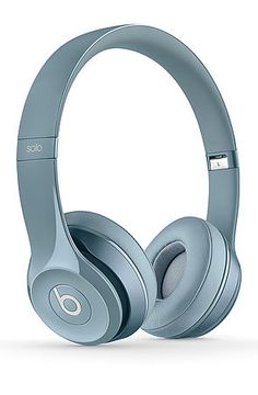 The Solo 2 On-Ear Headphones in Silver by Beats by Dre