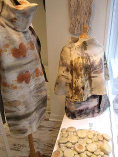 Lola Bastille @ La Boutique Extraordinaire-Paris www.lolabastille.com Bastille, Art Textile, Nuno Felting, Paris, Boutique, Oeuvre D'art, Wearable Art, Vests, Cloths