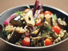 Farro Salad With Grilled Vegetables #GrillingCentral