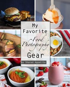 My Favorite Food Photography Gear