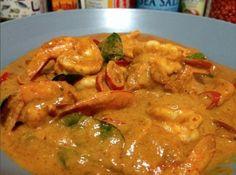 |《丁丁教你做》东南亚风 |  椰子咖喱虾 Penang curry prawn