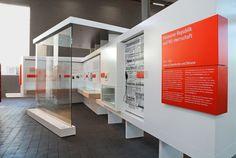 Abgekantete Ausstellungsschilder aus Aluminiumblech