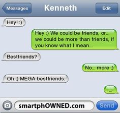 "MEGA BESTFRIENDS!!! haha this is what i call my bff and a guy she doesnt really like but who calles her his ""bestiest friend!"""