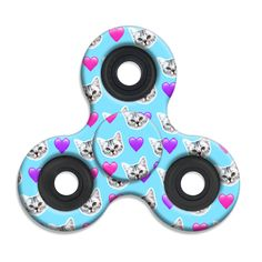 Spinner Squad Cat Print Fidget Spinner! Voted #1 for fastest and longest spin!