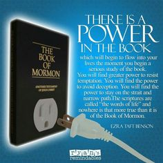 The power of the Book of Mormon, Another Testament of Jesus Christ