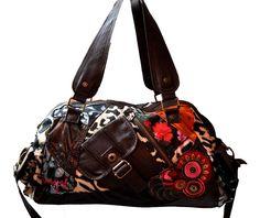 DESIGUAL tolle Tasche Bag Handtasche Schultertasche BOLS TOKYO Patch Night NEU
