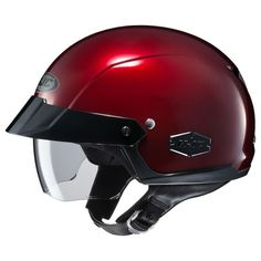TheHJC IS-Cruiser Helmet is paired down for rugged good looks and sheer simplicity. There's no complex lever to deploy the sun shield. You naturally grab small exposed tabs and pull it down -not much to go wrong here. No frills, no fuss.