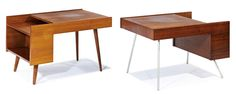 Lot 044 | End tables (2) | Milo Baughman | May 18, 2014 Auction | Los Angeles Modern Auctions (LAMA)