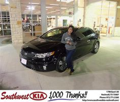 Happy Anniversary to Irinea De Jesus on your 2013 #Kia #Forte from Gary Guyette Jr and everyone at Southwest KIA Rockwall! #Anniversary