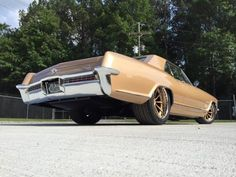 1965 Buick Riviera with a 6.2 L supercharged LSA V8
