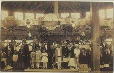 1920s Photo Postcard Vintage New Jersey Carousel Amusement Park   Flickr - Photo Sharing!