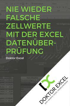 Die Excel Datenüberprüfung bietet dir einfache Möglichkeiten, die Dateneingabe in deiner Arbeitsmappe zu kontrollieren. Dazu musst du nur … Microsoft Excel, Bar Chart, Bullet Journal, Learning, Words, Tips, Enorm, Felder, Accounting