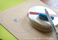 Describes how to make a yo-yo pieces...I need to redo a couple on our family yo-yo quilt! priceless info!