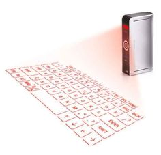A LASER-PROJECTION KEYBOARD. | 22 Ingenious Products That Will Make Your Workday So Much Better