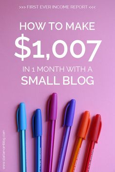 make money with a blog roadmap