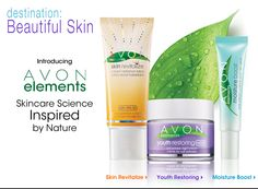 Unlock the secret to beautiful skin with our newest skincare collection #AvonElements