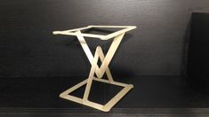 Build a tensegrity structure Morning Wood, Popsicle Sticks, Simple, Building, Bucky, Furnitures, Youtube, Tech, Base
