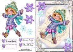 Snow Angel Girl  on Craftsuprint - View Now!