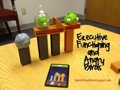 For younger students: practice using Executive Functioning skills to play Angry Birds game