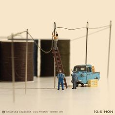 Don't get the NEEDLE just cause you NEED to repair fallen power lines guys !!
