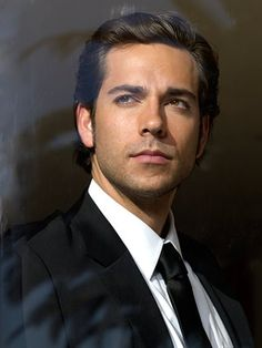 This is a classic look - Zachary Levi wears it well