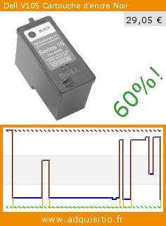 Dell V105 Cartouche d'encre Noir (Fournitures de bureau). Réduction de 60%! Prix actuel 29,05 €, l'ancien prix était de 73,00 €. http://www.adquisitio.fr/dell/v105-cartouche-dencre